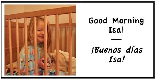 0 good morning Isa