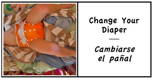 1 change diaper