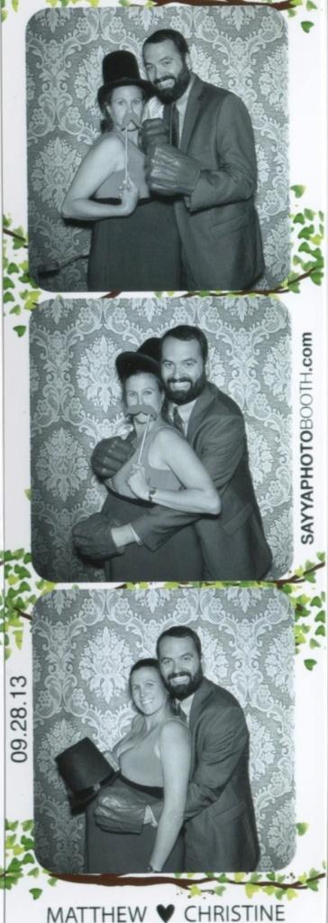 Christine's Wedding BW